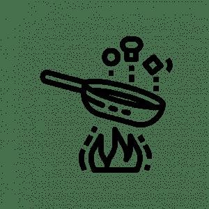 cocinar competamente